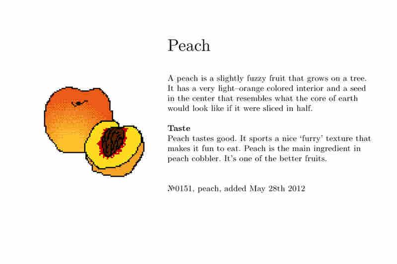 №0151, peach