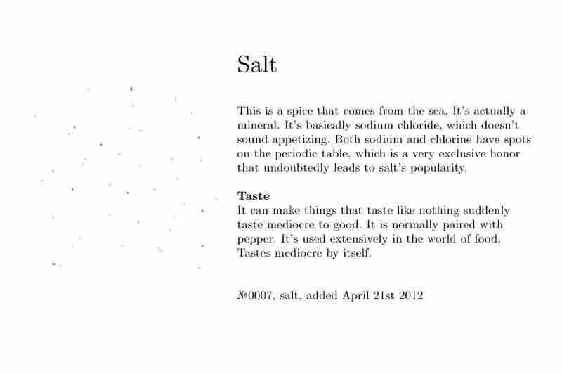 №0007, salt