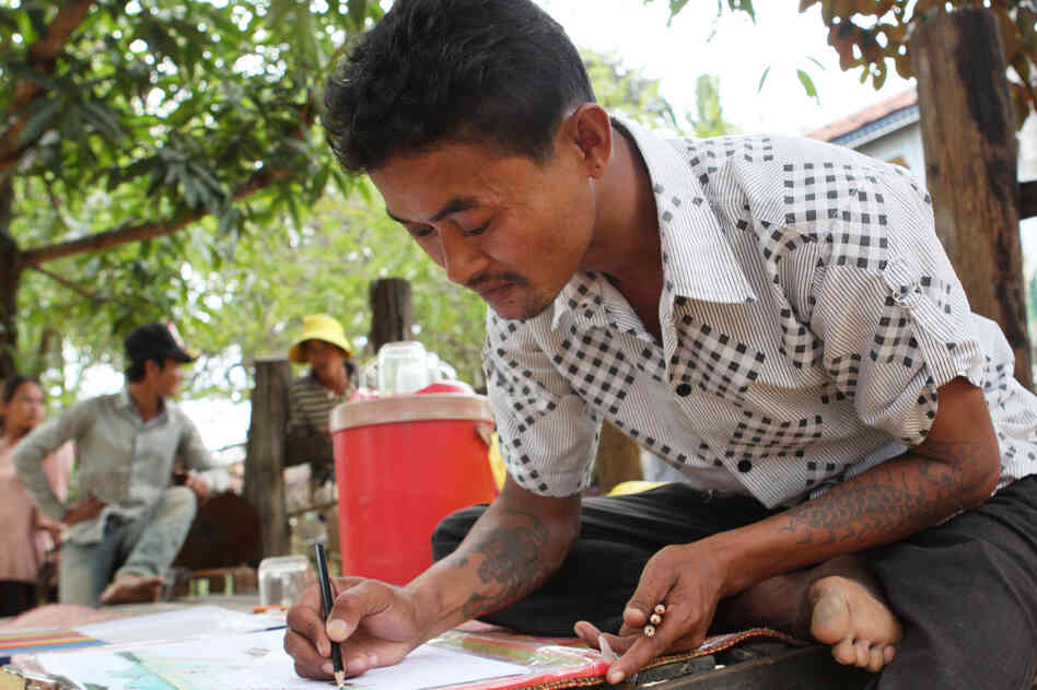 Vannak Prum of Cambodia was sold onto a Thai fishing boat where he was forced to work in miserable conditions for three years before escaping. Thailand's huge fishing industry is coming under increasing criticism for using trafficked workers who have been sold to unscrupulous ship captains.