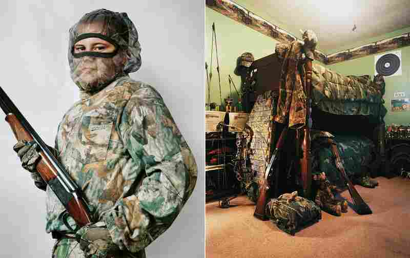 Joey, 11, lives in Kentucky with his parents and older sister. He regularly accompanies his father on hunts. He owns two shotguns and a crossbow and got his first kill — a deer — at the age of 7.