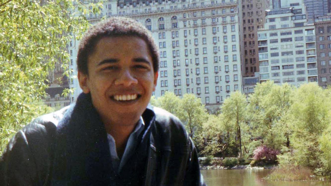A Future President Finds Himself In New Obama Bio : NPR