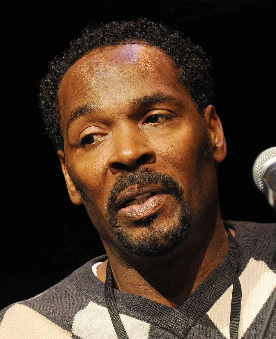 Rodney King attends a book festival in Los Angeles in April. King was found unconscious in a swimming pool Sunday and later pronounced dead.