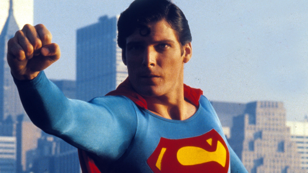 Christopher Reeve played Superman in Richard Donner's 1978 film. Larry Tye has written a new biography of the Man of Steel. (AP)
