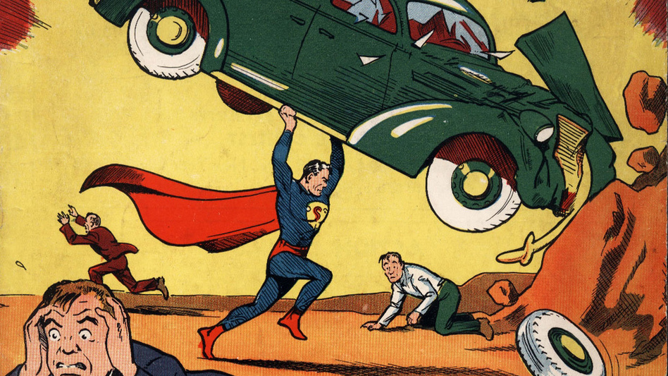 Superman first appeared in the June 1938 edition of Action Comics. (AP)
