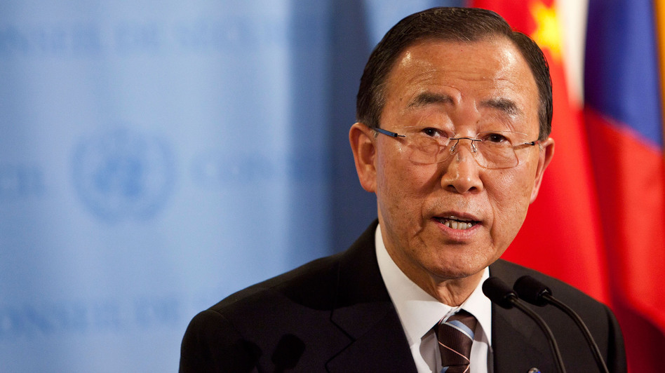 United Nations Secretary-General Ban Ki-moon speaks during a news conference on June 7 at the United Nations headquarters in New York City. Ban wants to focus on making energy available to the poorest populations of the world. (Getty Images)