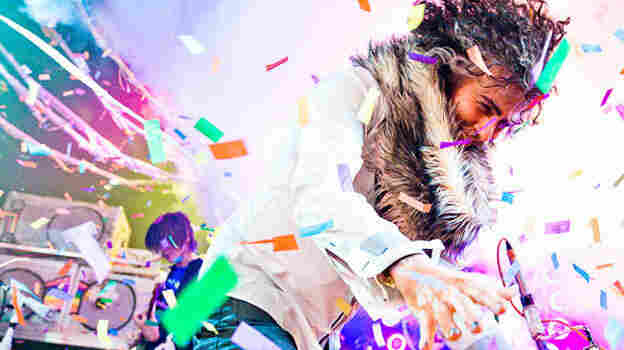 Wayne Coyne of The Flaming Lips performs at the 2012 Noise Pop Festival in San Francisco.