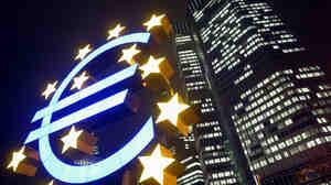 European Central Bank headquarters.