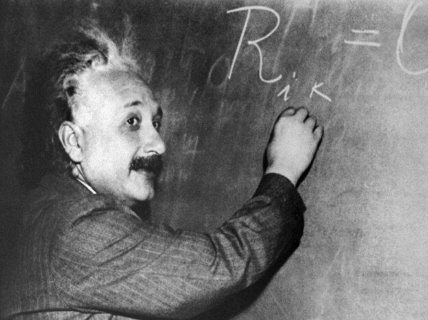 PRINCETON, UNITED STATES: (FILES) Undated portrait taken in Princeton of German-born Swiss-US physicist Albert Einstein (1879-1955),