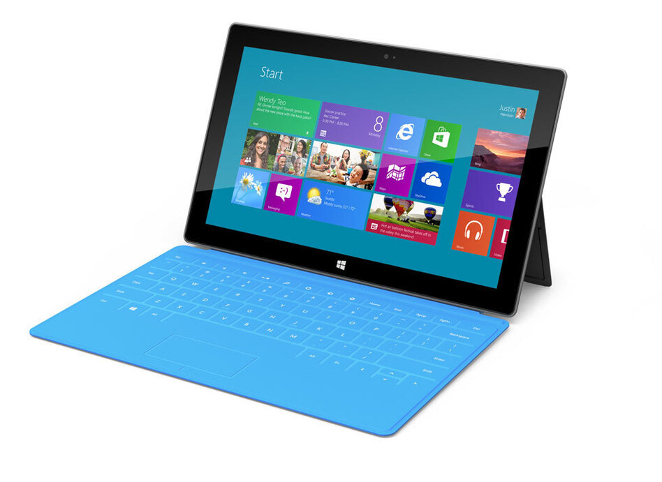 Microsoft's Surface.