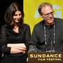 Producer Amy Ziering and Director Kirby Dick accept an award at this year's Sundance Film Festival for their documentary The Invisible War, which looks at sex crimes in the military.