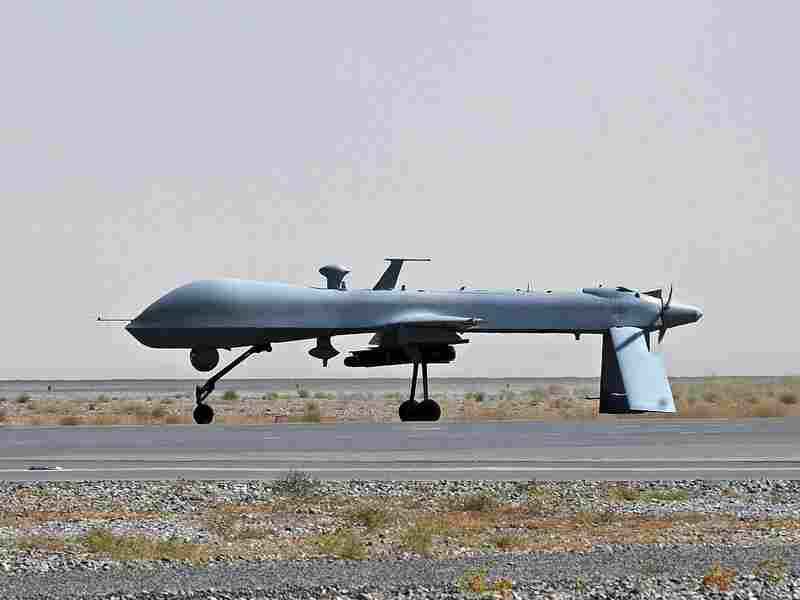 In this file picture taken on on June 13, 2010, a U.S. Predator unmanned drone armed with a missile stands on the tarmac of Kandahar military airport. An increase in drone strikes under the Obama administration has eliminated top al-Qaida operatives, but critics wonder if the souring public sentiment against the strikes across the globe is worth their tactical achievements.