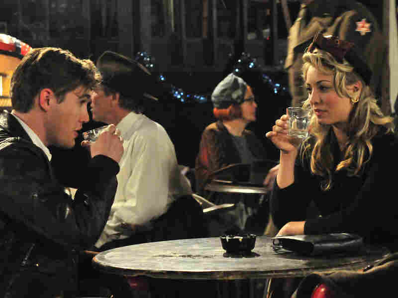 Silas has a drink with Wanda (Kaley Cuoco). The late-game love story shifts the movie's attention further away from its presumed subject, Hank Williams.