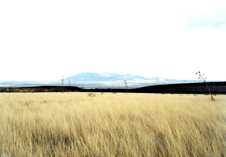 Border View south from grasslands, Hereford, Ariz., 2010
