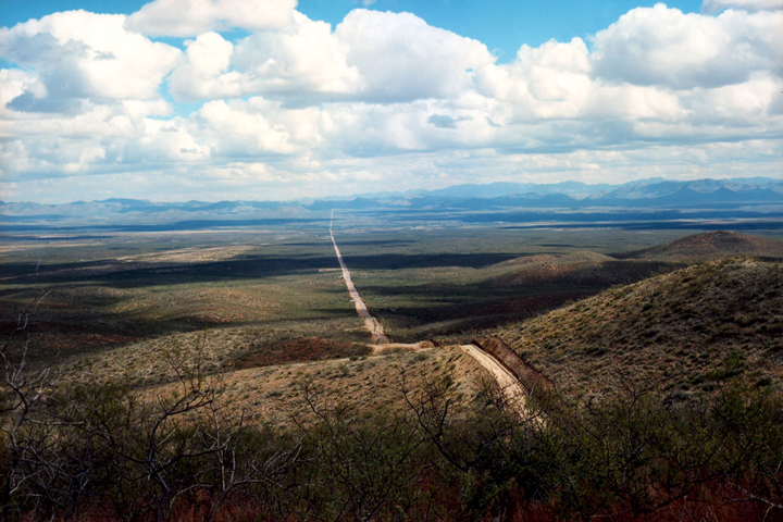 Border road east, Douglas, Ariz., 2010