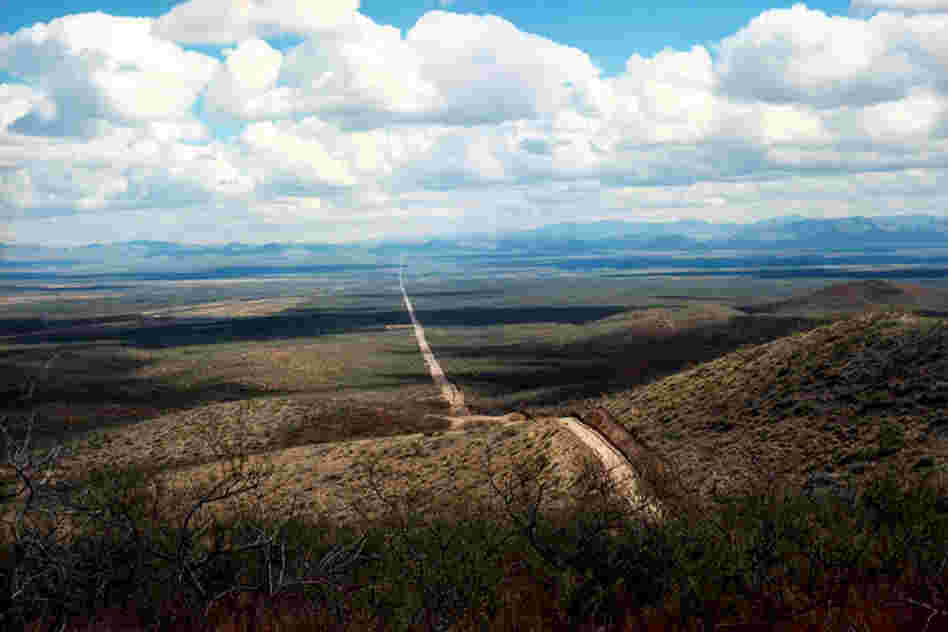 Border road east, Douglas, Ariz., 2010