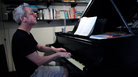 Jeremy Denk performs Ligeti's Etudes for an In Practice recording session.