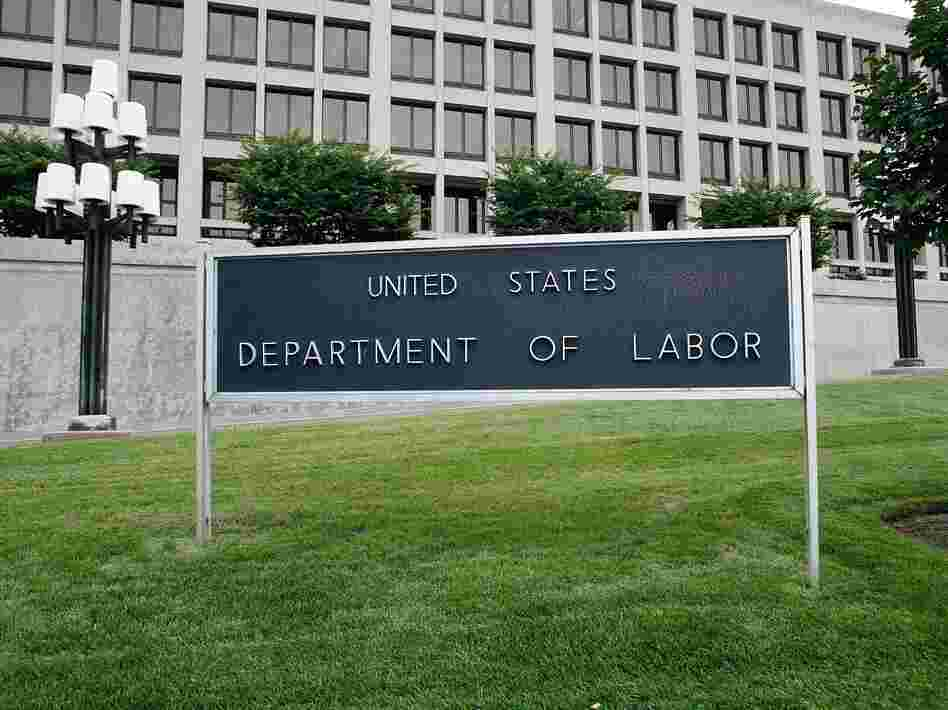 WASHINGTON - AUGUST 15: The exterior of the U.S. Department of Labor is seen August 15, 2006 in Washington, DC.