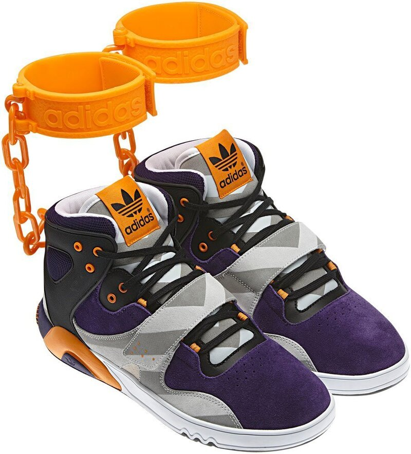 Adidas Cancels Its 'Shackle Shoes' : The Two Way : NPR