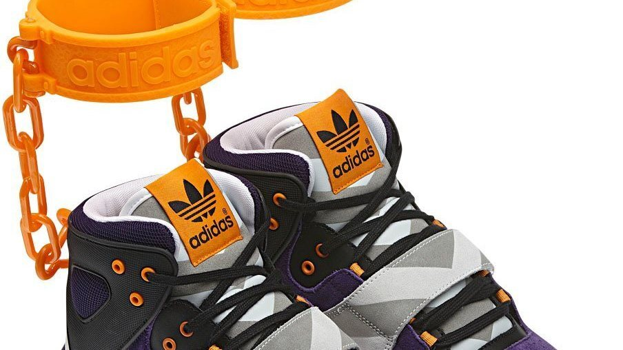 new concept db1ad 25a32 Adidas Cancels Its  Shackle Shoes    The Two-Way   NPR