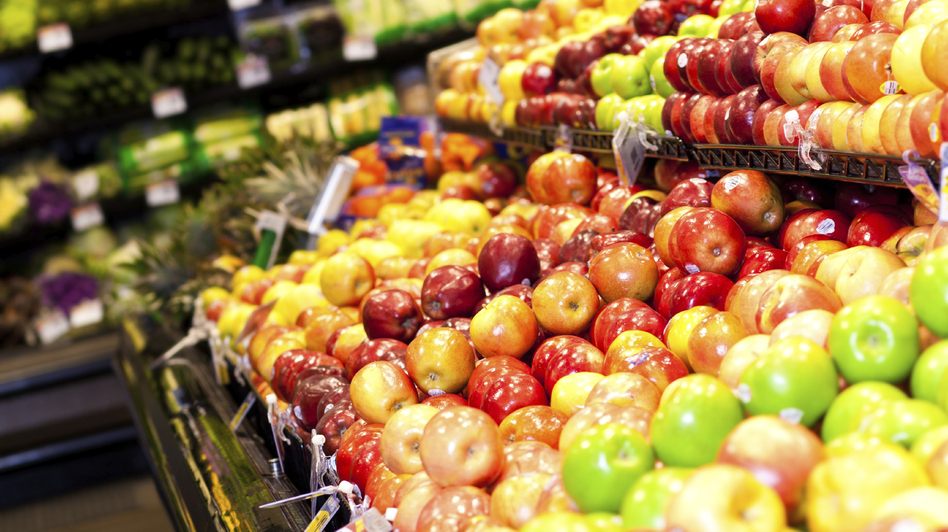 Apples made the top of the list for produce containing pesticide residue, but how much is unsafe? (iStockphoto.com)
