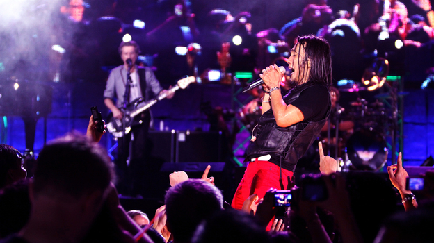 Arnel Pineda became the lead singer of Journey in late 2007. (Silverdocs)