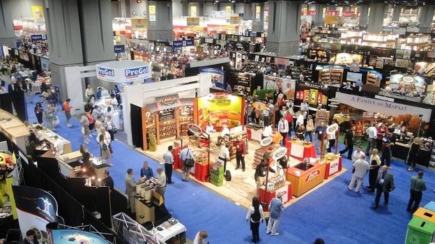The Fancy Food Show floor in 2011. (Flickr.com)