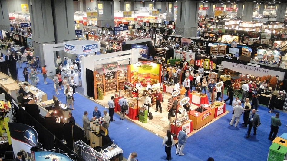 The Fancy Food Show floor in 2011. (Flickr.com)