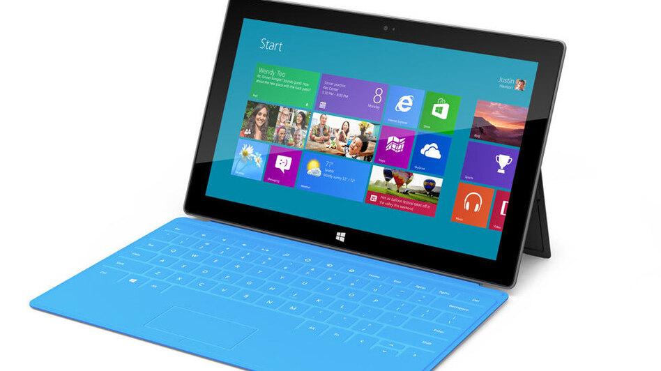 Microsoft's Surface. (Microsoft)