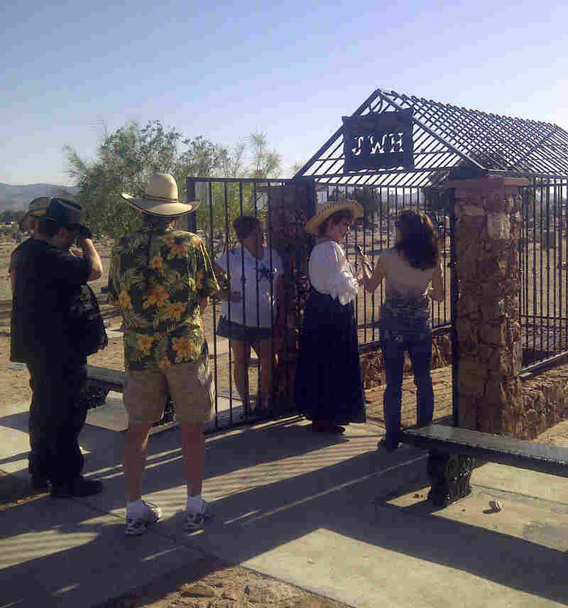 The grave of John Wesley Hardin draws many visitors and historians to Concordia.