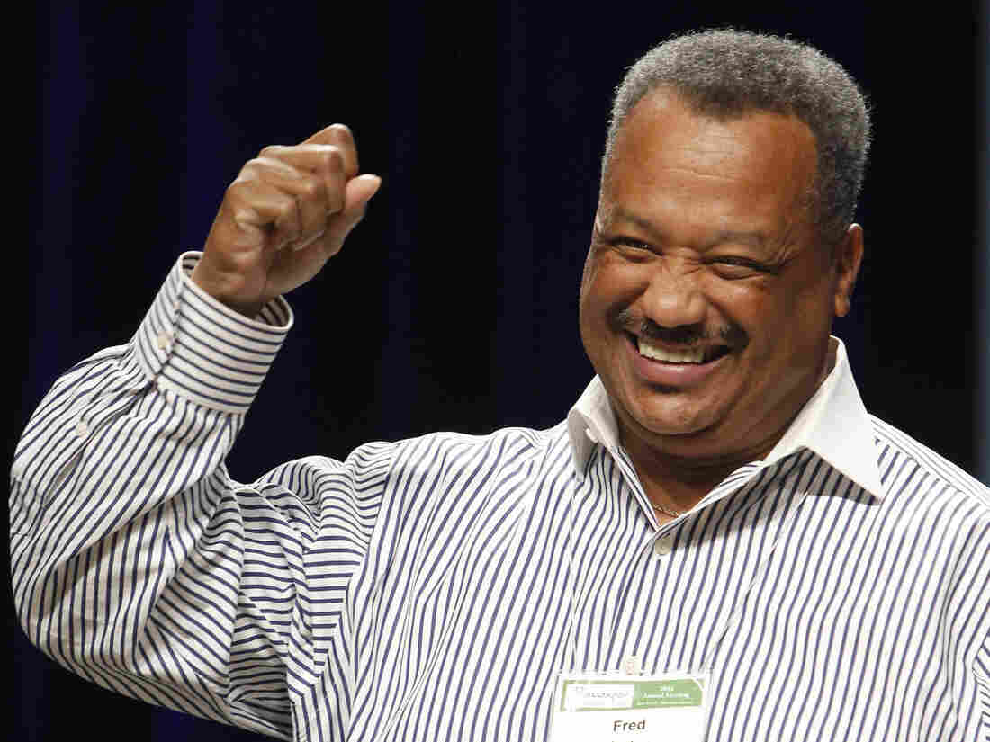 Pastor Fred Luter, of New Orleans, who's set to be president of the Southern Baptist Convention.