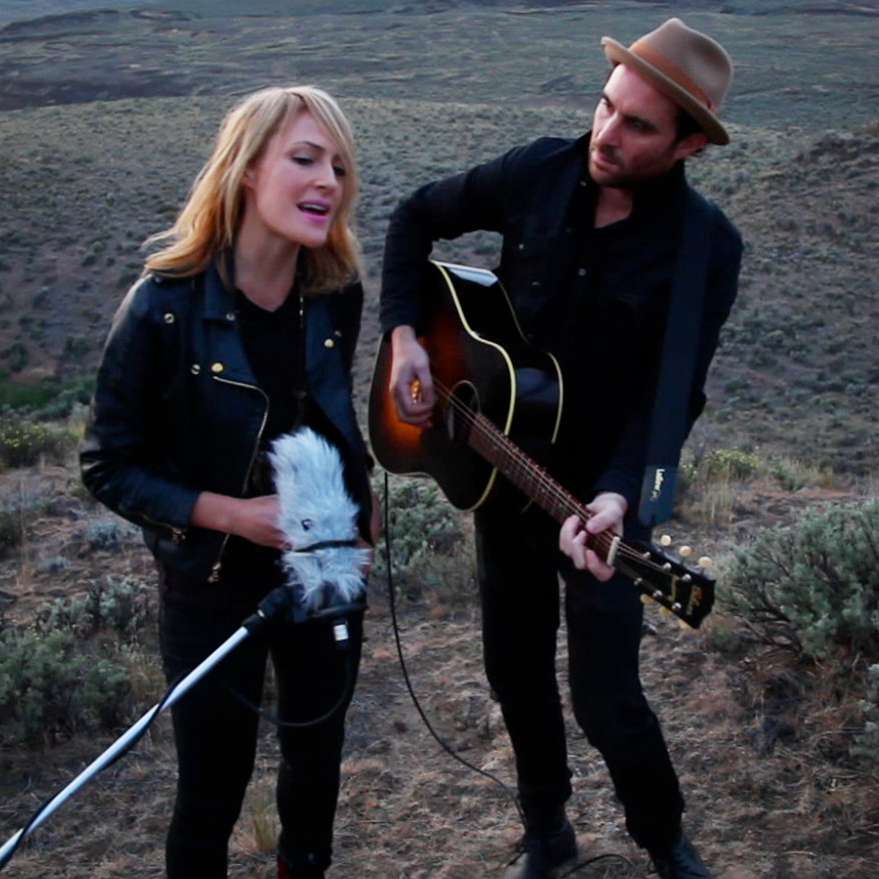 Metric performs for a Field Recording backstage at Sasquatch! Music Festival at the Gorge Amphitheater in George, WA on May 26, 2012.