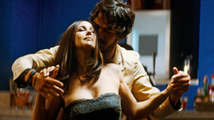 Paul (Jerome Robart) dances with Angele, a source of much jealousy for Paul's girlfriend, Elisabeth.
