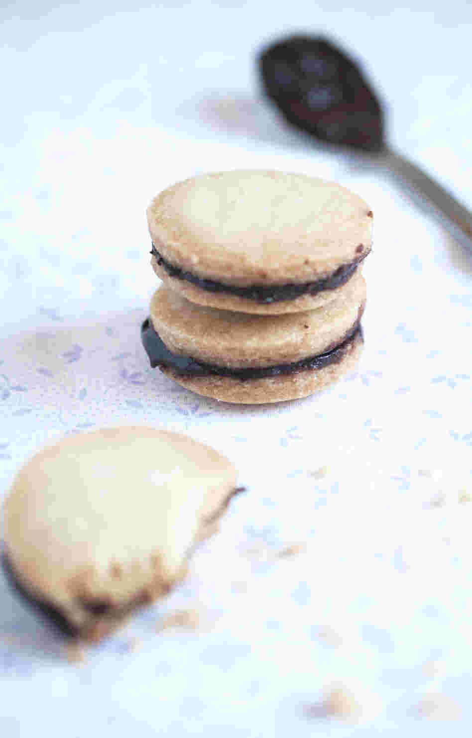 Chocolate Chai Sandwich Cookies