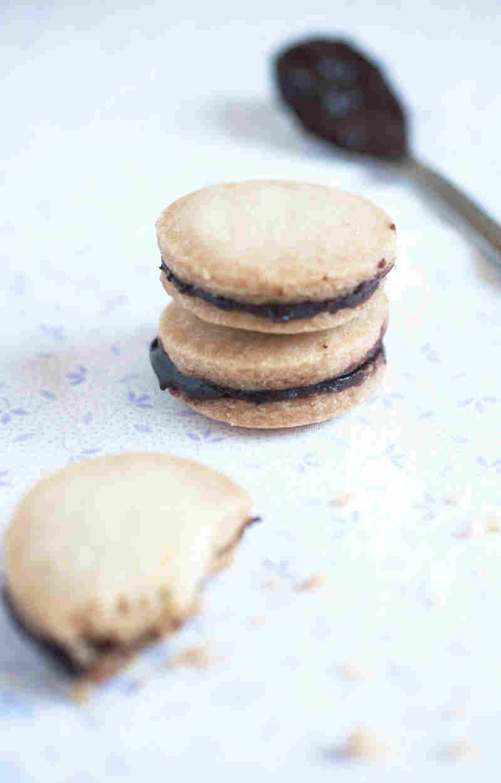 Chocolate Chai Sandwich Cookies