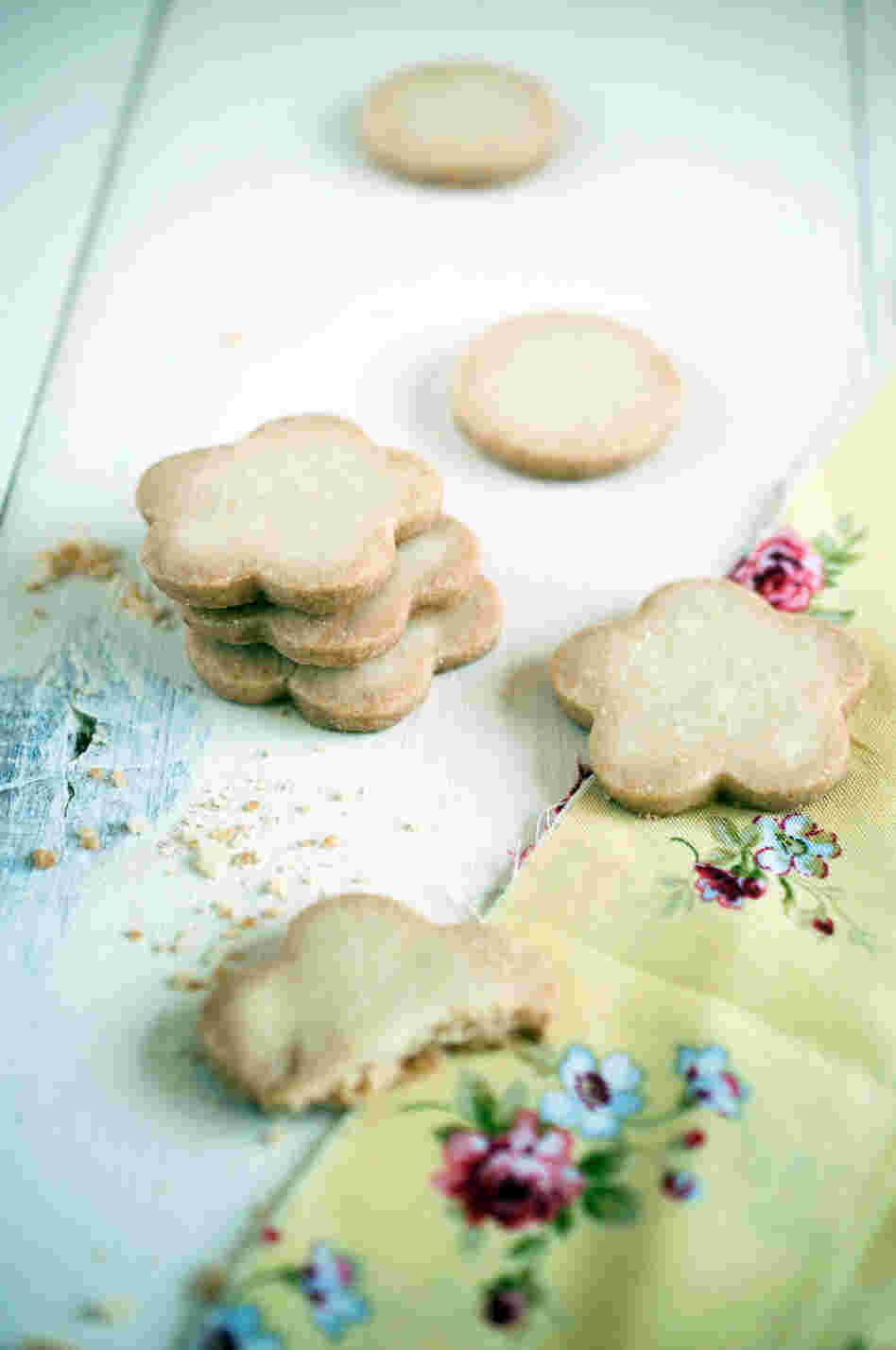 Lemon Citrus 'Tea' Cookies