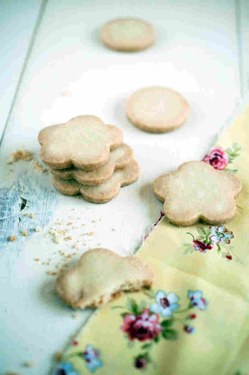 Lemon Citrus 'Tea' Cookies