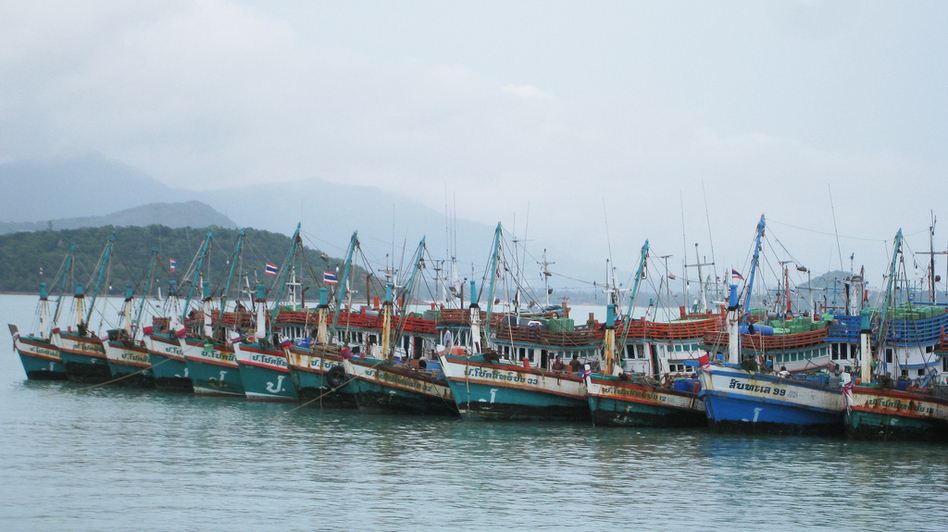 Thailand has a huge fishing fleet, but the industry is chronically short of fishermen. Human traffickers have recruited unsuspecting workers from Cambodia and Myanmar who end up spending months or even years at sea. (Flickr)