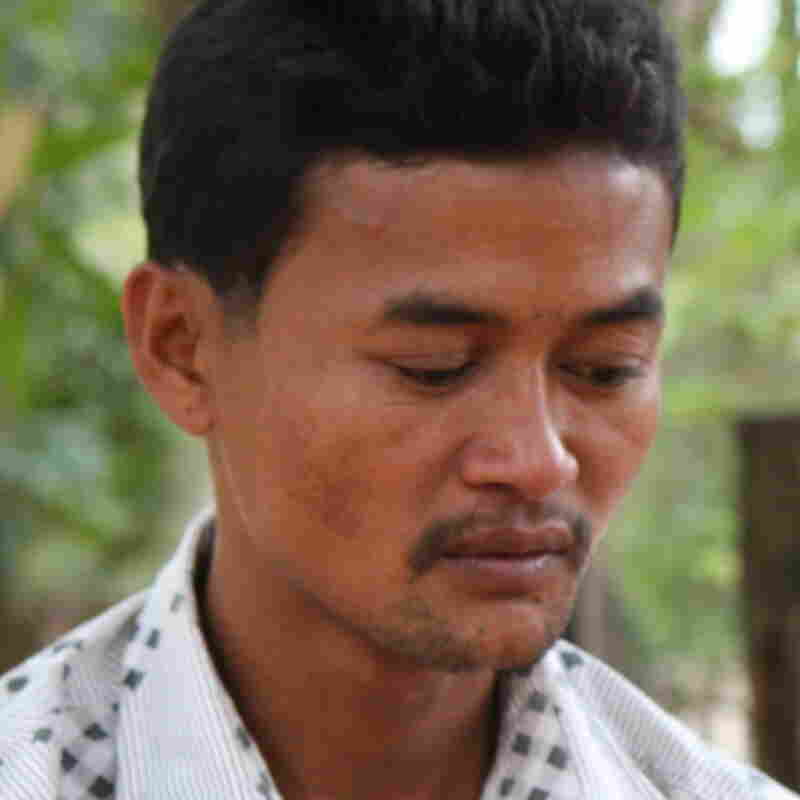 Vannak Prum of Cambodia was trafficked onto a Thai fishing boat and forced to work for three years before he escaped by jumping overboard. He was honored at the State Department in Washington on Tuesday as the U.S. issued its annual report on human trafficking around the world.