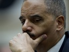 Attorney General Eric Holder during congressional testimony in 2011.