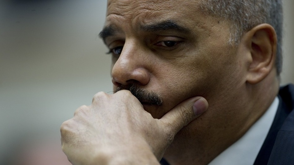 Attorney General Eric Holder during congressional testimony in 2011. (AFP/Getty Images)