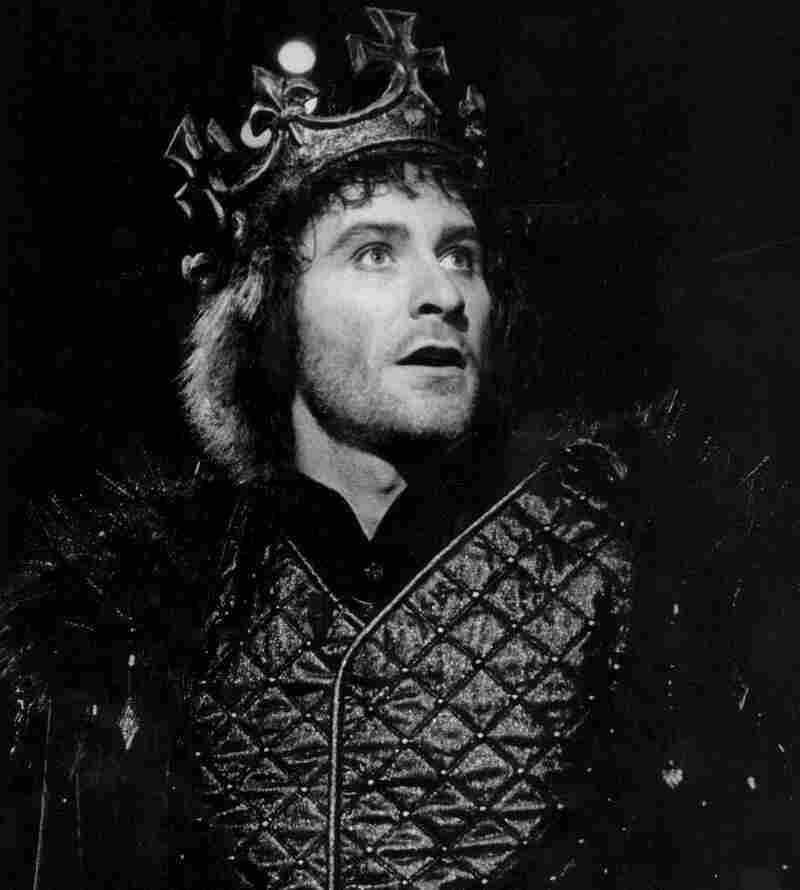 Kevin Kline in the 1983 Shakespeare in the Park production of Richard III, years after his first job at the Delacorte Theater carrying a spear in a different production of the same play.