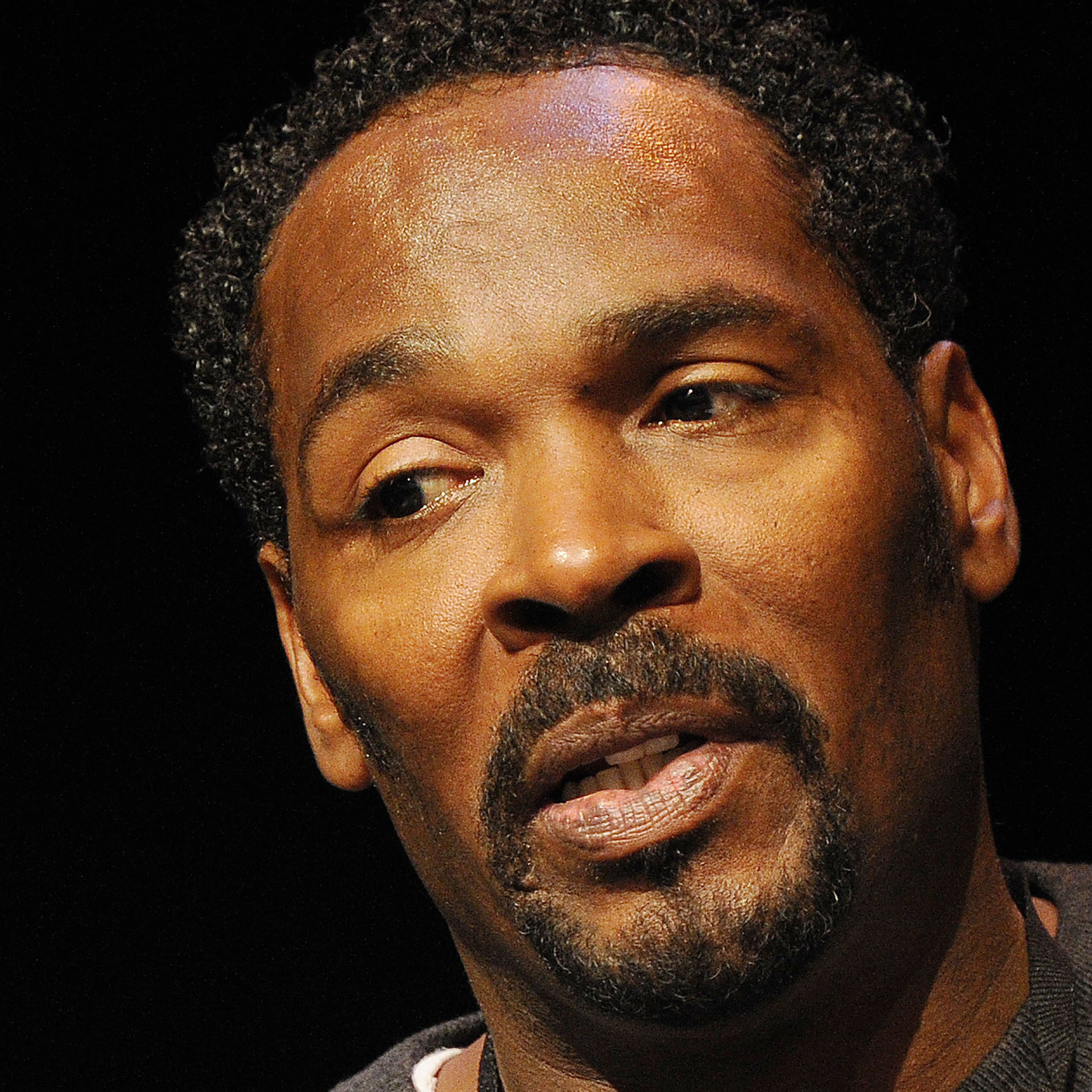 Rodney King attends a book festival in Los Angeles in April. King was found unconscious in a swimming pool Sunday and was later pronounced dead.