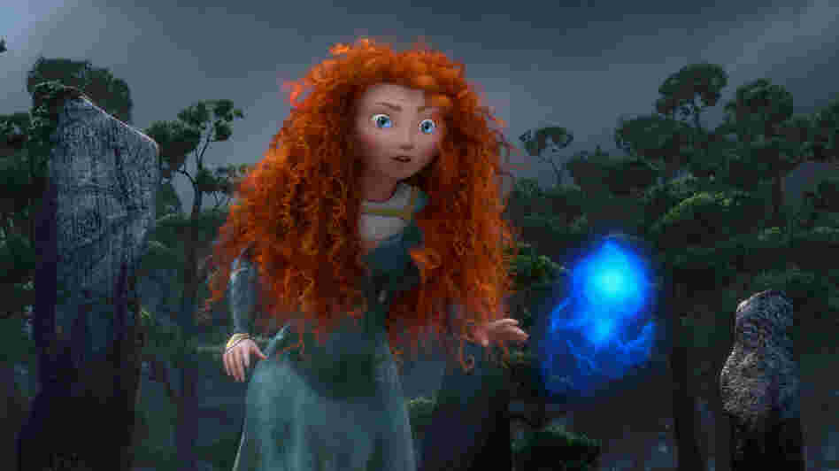 In Brave, Merida goes in search of a spell to get back at her mother, who wants to force her to marry a suitor.