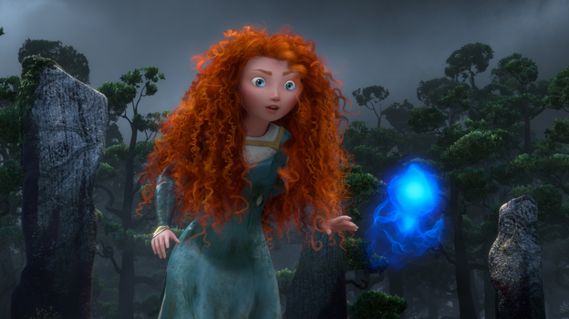 In Brave, Merida goes in search of a spell to get back at her mother, who wants to force her to marry a suitor. (Disney/Pixar)