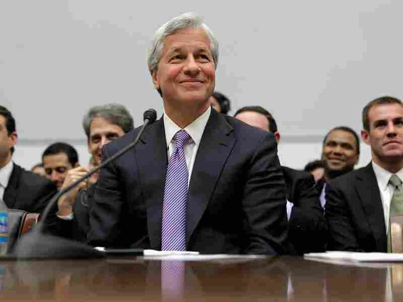 JPMorgan Chase & Co Chairman and CEO Jamie Dimon testifies before the House Financial Services Committee on Capitol Hill June 19 in Washington, DC. After testifying before the Senate last week, Dimon answered questions from the committee about his company's $2 billion trading loss earlier this year.