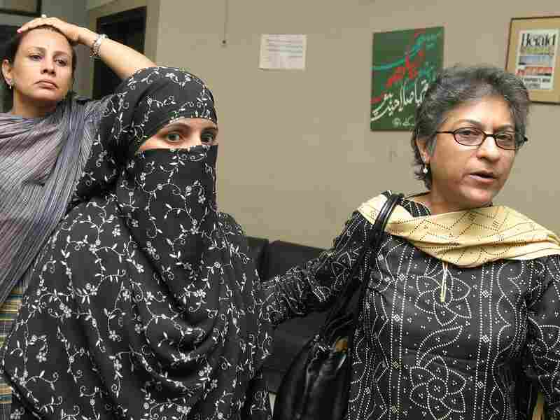 Sonia Naz (left) accused two Punjab police officers of extorting money from her and then sexually assaulting her after she complained to a court. Qureshi's investigation supported her claims, but he says he was forced out of a job as a result. Meanwhile, Naz's seven-year-old case has been revived by the Supreme Court.