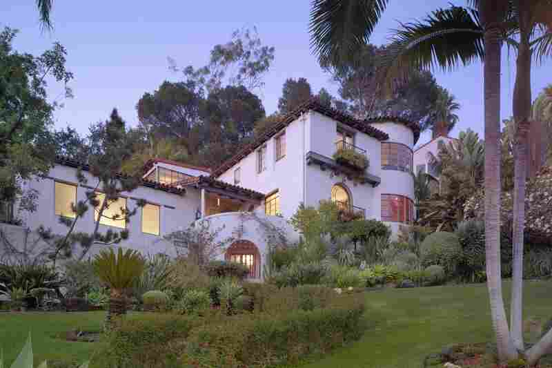 This Spanish Colonial Revival-style