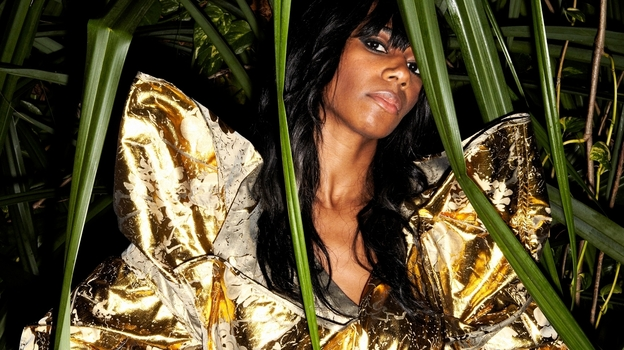 Santigold's latest album, Master of My Make-Believe, came out in April. (Sean Thomas)