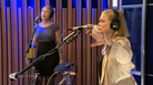 Ane Brun in studio at KCRW.