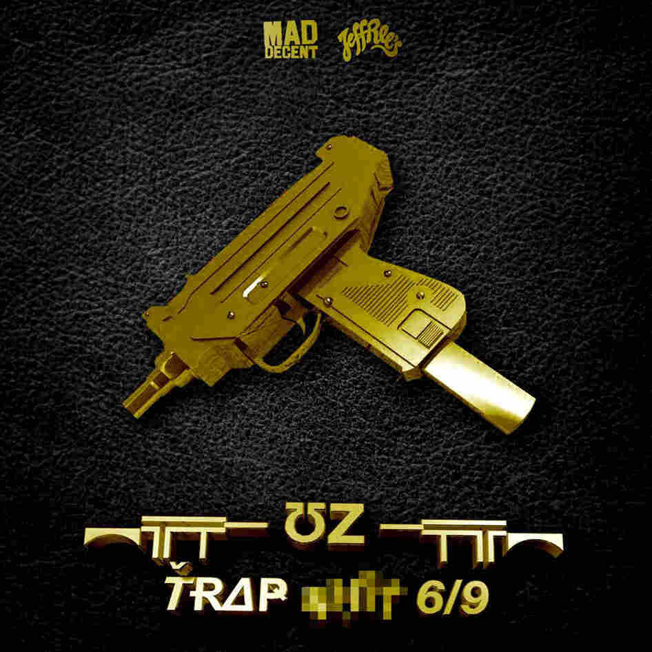 The cover of a new EP by producer UZ.